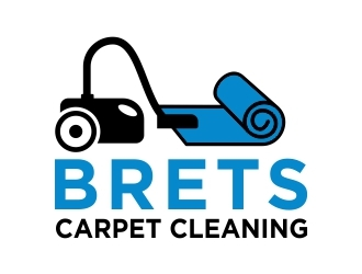 Brets Carpet Cleaning logo design concepts #5