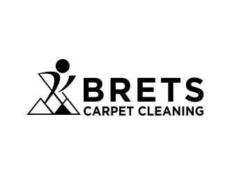 Brets Carpet Cleaning logo design concepts #7