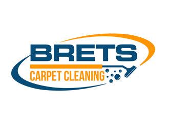Brets Carpet Cleaning logo design concepts #9