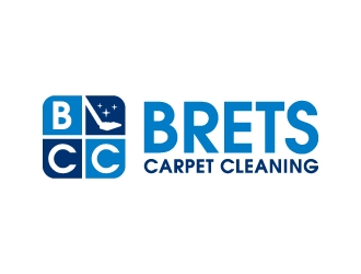 Brets Carpet Cleaning logo design concepts #11