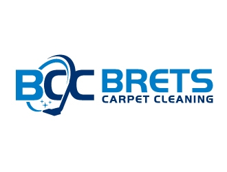 Brets Carpet Cleaning logo design concepts #12