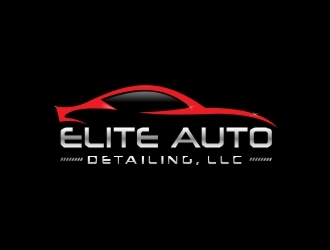Elite Auto Detailing, LLC logo design concepts #3