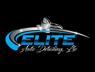 Elite Auto Detailing, LLC logo design concepts #5