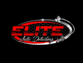 Elite Auto Detailing, LLC logo design concepts #7