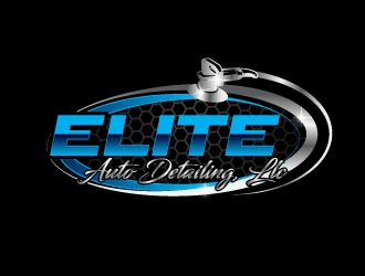 Elite Auto Detailing, LLC logo design concepts #9