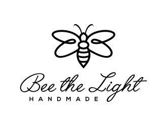 Bee the Light Handmade  logo design concepts #5