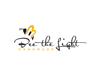 Bee the Light Handmade  logo design concepts #6