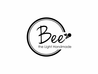 Bee the Light Handmade  logo design concepts #7