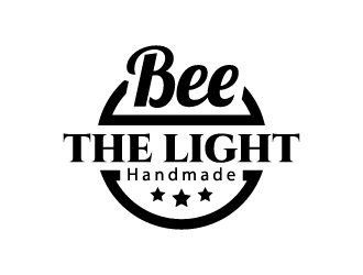 Bee the Light Handmade  logo design concepts #8