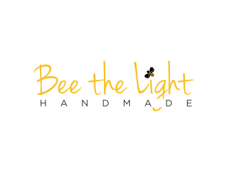 Bee the Light Handmade  logo design concepts #10