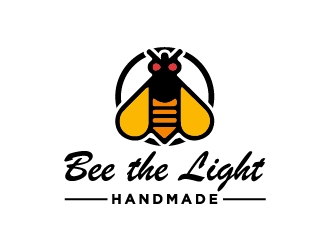 Bee the Light Handmade  logo design concepts #13
