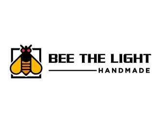 Bee the Light Handmade  logo design concepts #14