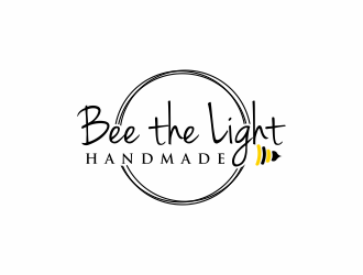 Bee the Light Handmade  logo design concepts #15