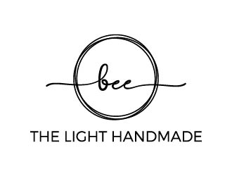 Bee the Light Handmade  logo design concepts #16
