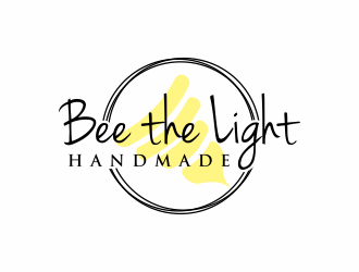 Bee the Light Handmade  logo design concepts #17