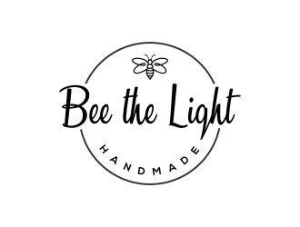 Bee the Light Handmade  logo design concepts #18