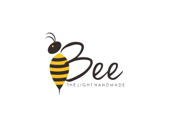 Bee the Light Handmade  logo design concepts #19
