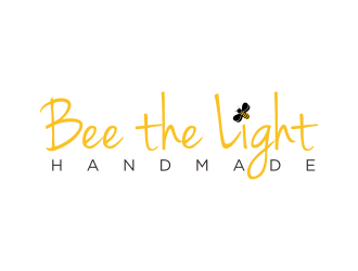 Bee the Light Handmade  logo design concepts #20