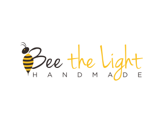 Bee the Light Handmade  logo design concepts #22