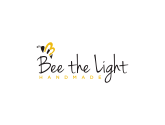 Bee the Light Handmade  logo design concepts #23