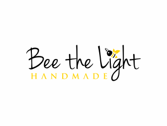 Bee the Light Handmade  logo design concepts #24