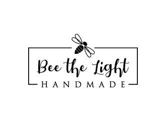 Bee the Light Handmade  logo design concepts #27