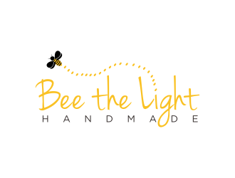 Bee the Light Handmade  logo design concepts #28