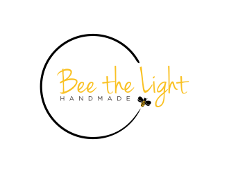 Bee the Light Handmade  logo design concepts #29