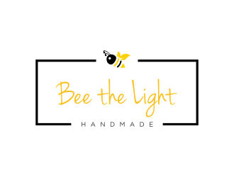 Bee the Light Handmade  logo design concepts #30
