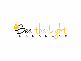 Bee the Light Handmade  logo design concepts #1