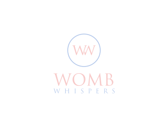 Womb Whispers logo design concepts #4