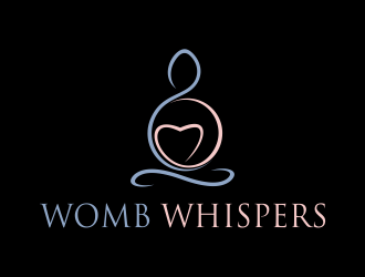 Womb Whispers logo design concepts #7