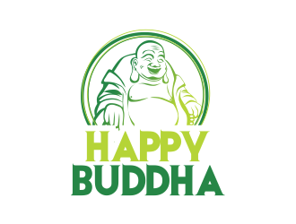 Happy Buddha Storefront logo design concepts #7