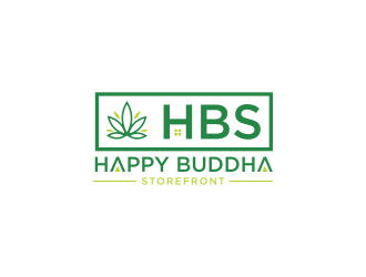 Happy Buddha Storefront logo design concepts #12