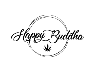 Happy Buddha Storefront logo design concepts #1