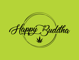 Happy Buddha Storefront logo design concepts #3