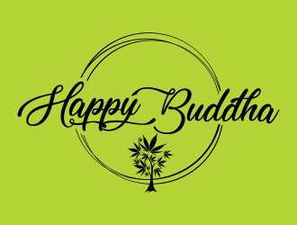 Happy Buddha Storefront logo design concepts #6