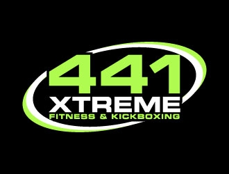 441 Xtreme Fitness & Kickboxing  logo design concepts #5