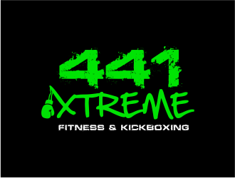 441 Xtreme Fitness & Kickboxing  logo design concepts #9