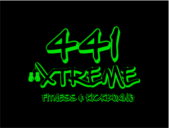 441 Xtreme Fitness & Kickboxing  logo design concepts #11