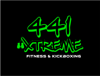 441 Xtreme Fitness & Kickboxing  logo design concepts #12