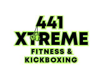 441 Xtreme Fitness & Kickboxing  logo design concepts #6