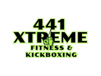 441 Xtreme Fitness & Kickboxing  logo design concepts #7