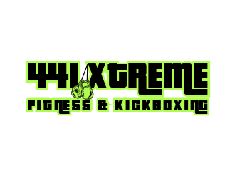 441 Xtreme Fitness & Kickboxing  logo design concepts #8