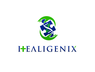 Healigenix logo design