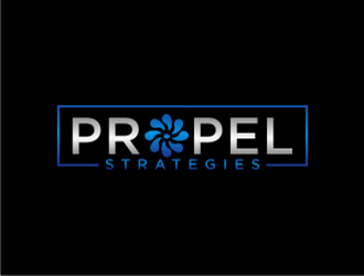 PROPEL Strategies logo design concepts #8