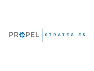 PROPEL Strategies logo design concepts #10