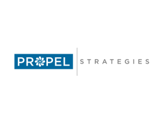 PROPEL Strategies logo design concepts #12