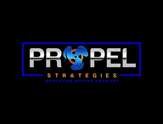 PROPEL Strategies logo design concepts #14
