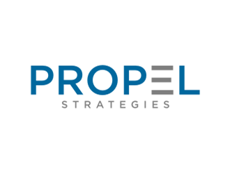 PROPEL Strategies logo design concepts #15